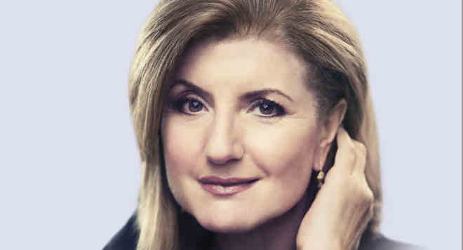 Arianna Huffington Book THRIVE