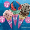 The Amazing Spider-Man 2 Flavor for Baskin-Robbins Ice Cream