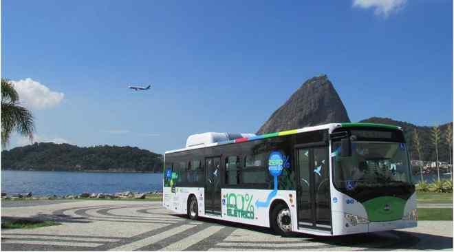 All-Electric Bus in Rio de Janeiro