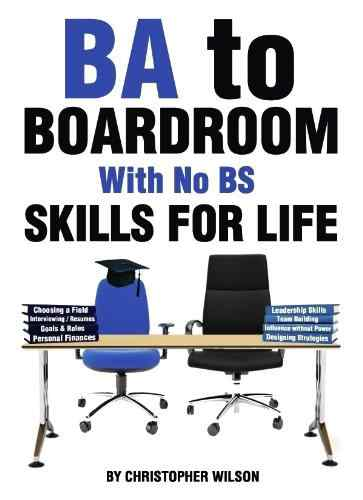 BA To Boardroom With No BS