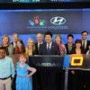 Hyundai Hope On Wheels Rings NASDAQ Opening Bell