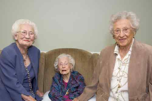 Meet Three Centenarian Sisters: 101, 104, 110