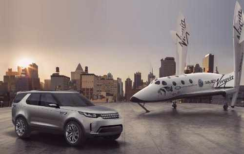 Land Rover's Discovery Vision for Virgin Galactic