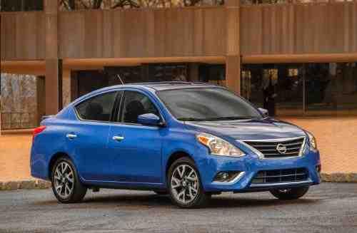 Nissan 2015 Versa Sedan