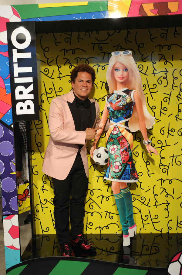 Artist Romero Britto to Launch Britto Barbie Doll