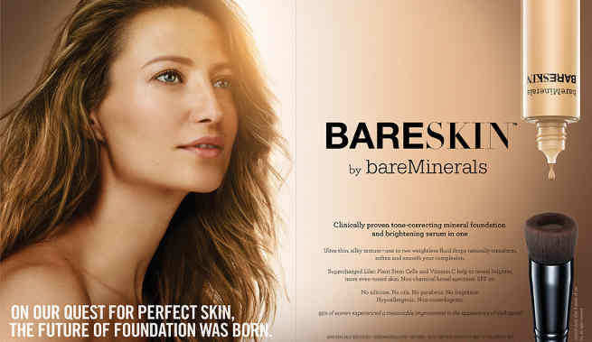 BareSkin Pure Brightening Serum Foundation