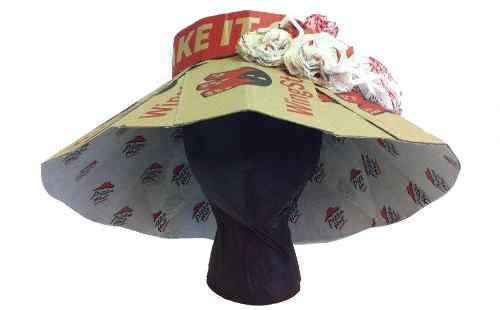 Pizza Hut Hats for Horse Race