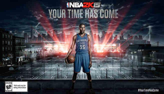 NBA MVP Kevin Durant
