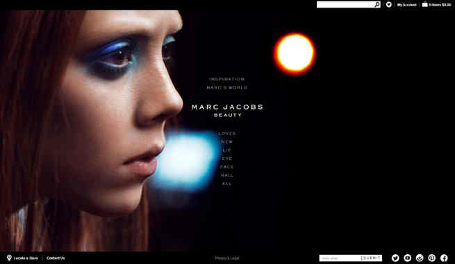 Marc Jacobs Beauty Launches E-Commerce Site