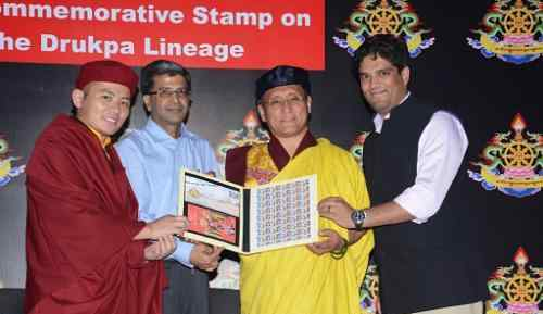 Indian Government Releases Stamp on Drukpa Buddhists
