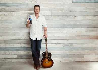 Pepsi Partnership with Blake Shelton