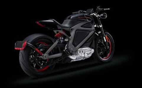 Electric Harley-Davidson Motorcycle