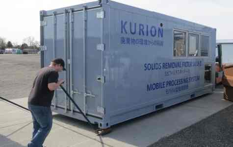 Kurion to Treat Tank Water at Fukushima Daiichi Nuclear Power Plant