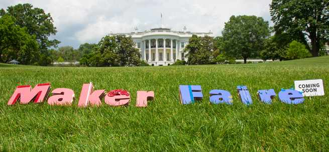 White House Maker Faire #NationOfMakers