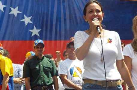 Venezuelan Congresswoman Maria Corina Machado