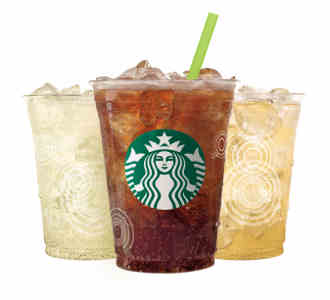 Starbucks Offers New Fizzio Soda and Teavana Iced Tea