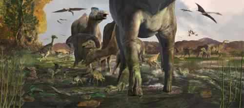 Study Says Dinosaur Herds Thrived in Ancient Ecosystem