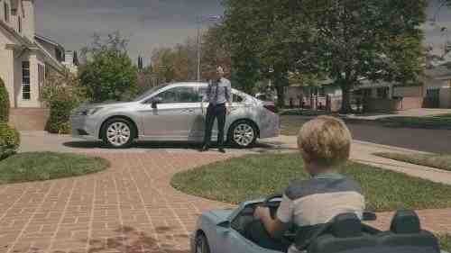 Subaru Launches TV Ad Campaign for New Legacy