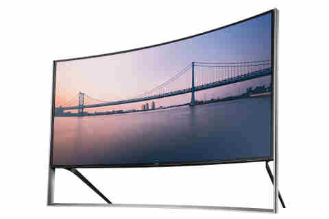 Samsung Curved UHD TV Delivers Cinematic Experience at Home