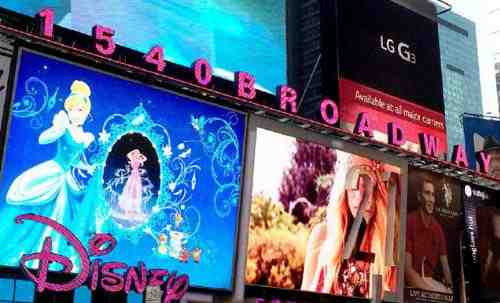 Times Square Goes Pink for Breast Cancer Awareness Month