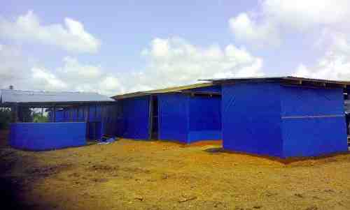 Ebola Treatment Center in Liberia