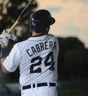 Baseball MVP Miguel Cabrera