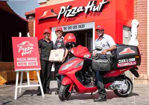 Pizza Hut Opens First Restaurant in Africa