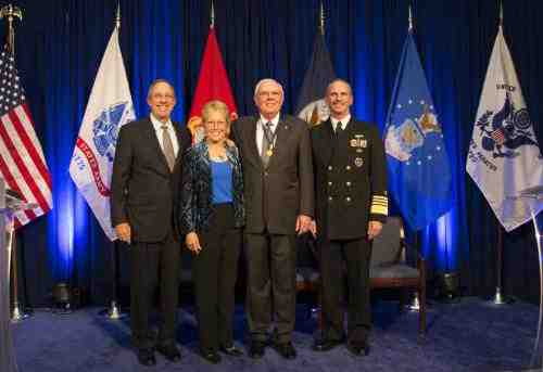 U.S. Navy Honors Navy Federal Chairman