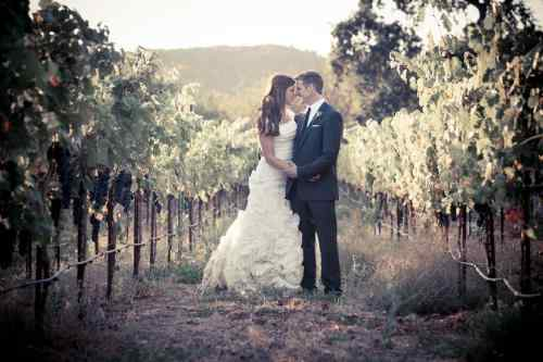 Death-with-dignity advocate Brittany Maynard & husband Dan Diaz at their wedding