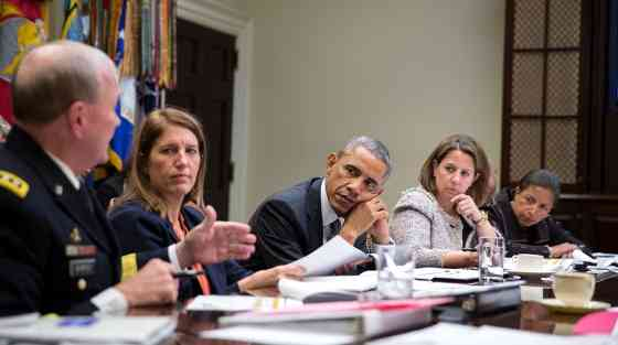 President Obama Reviews the U.S. Response to Ebola Epidemic