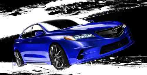 Acura to Display 2015 TLX at SEMA Show