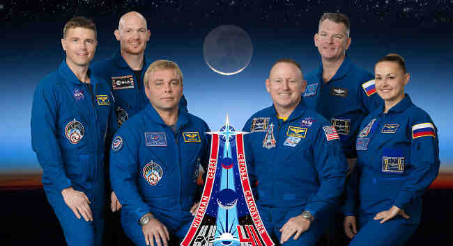 Expedition 41 Crew Members
