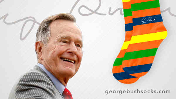 George Bush Socks