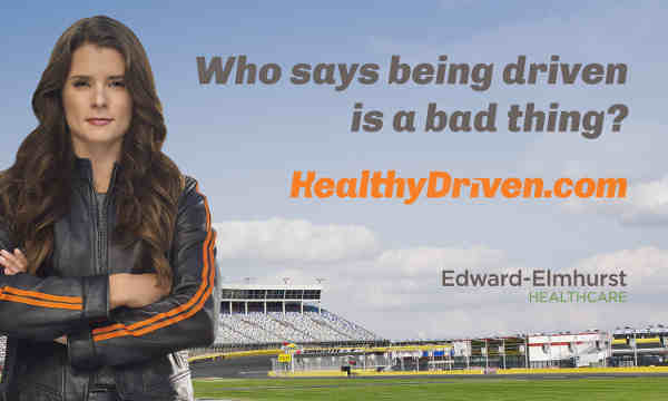 "Danica Patrick Drives the ""Healthy Driven"" Initiative"