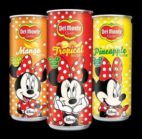 Minnie Mouse and Spiderman to Sell Kids Nectars