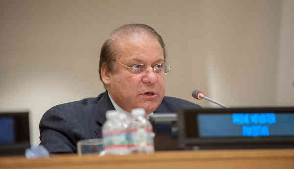 Prime Minister Muhammad Nawaz Sharif of Pakistan. UN Photo/Cia Pak