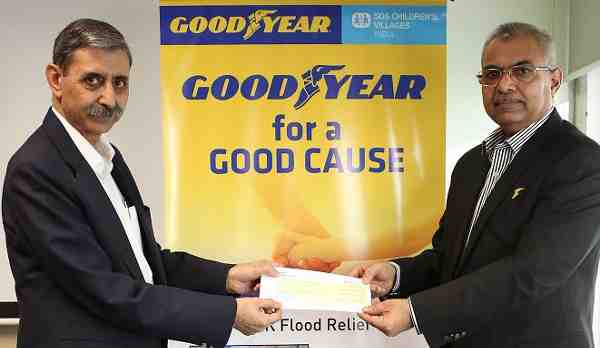 Goodyear and SOS Extend Support for Flood Victims in India