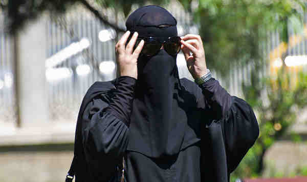 Muslim Women Dress Burqa