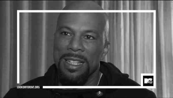Artist and activist Common shares his perspective on race as part of MTV's #TheTalk