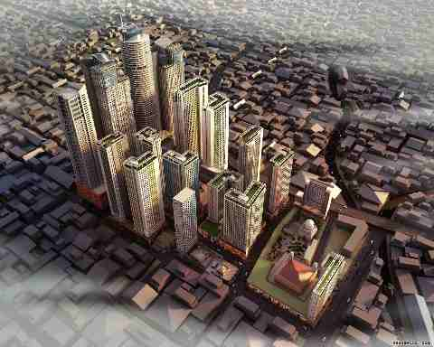 Smart City Planned at 'Bhendi Bazaar' in Mumbai