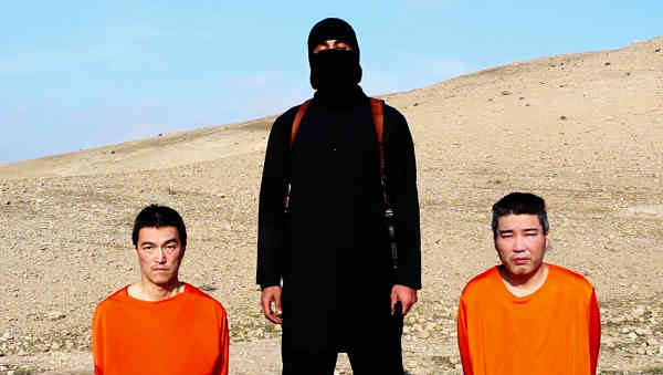 Japanese Hostages with ISIS