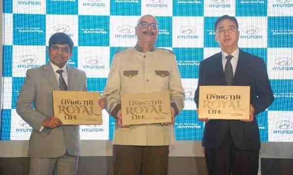 "Hyundai ""Living the Royal Life"" in India"