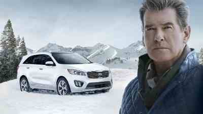 Pierce Brosnan Stars in Kia Super Bowl Commercial