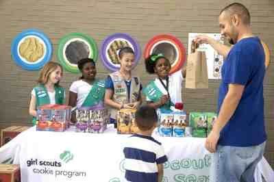 Girl Scouts of the USA announces National Girl Scout Cookie Weekend