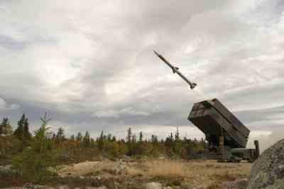 AMRAAM NASAMS Launcher