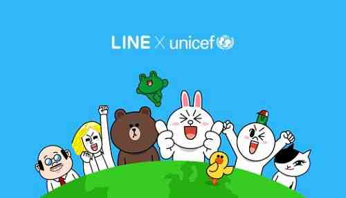 UNICEF and LINE to Help Children in Developing Countries