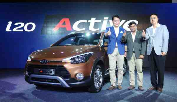 Hyundai Launches i20 Active in India