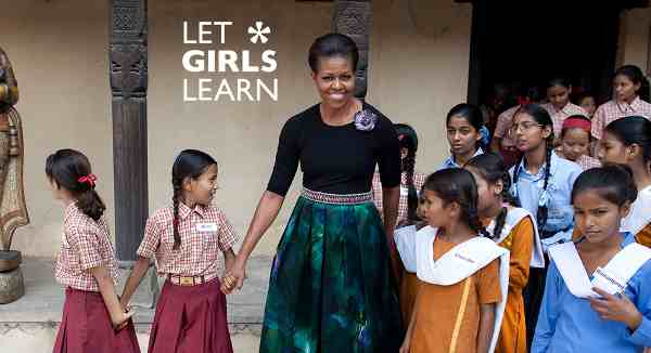 President Obama and Michelle Obama Say Let Girls Learn