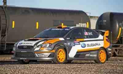 Subaru Rallycross Car