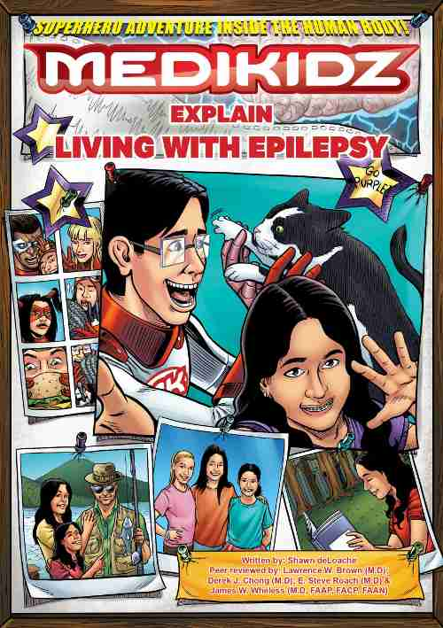 Comic Book to Raise Epilepsy Awareness